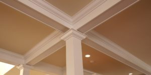 image of crown moulding installation by JD MacGillivray Painting and Decorating of Newmarket, Aurora, King City, Richmond Hill and Markham