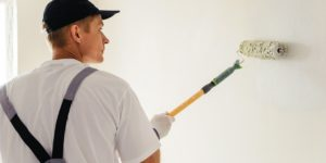 image of interior house painting being performed by JD MacGillivray Painting and Decorating of Newmarket, Aurora, King City, Richmond Hill and Markham